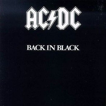 AC/DC : BACK IN BLACK (CD)