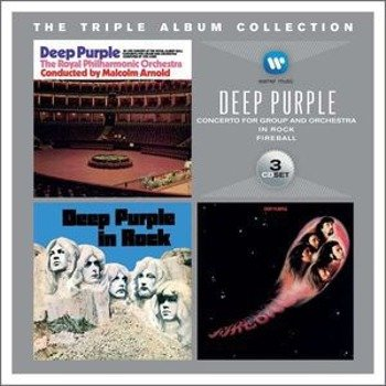 DEEP PURPLE: THE TRIPLE ALBUM COLLECTION (3CD)