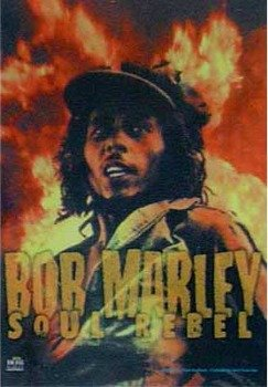 "Flaga BOB MARLEY ""SOUL REBEL"""