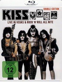 KISS: LIVE IN VEGAS & ROCK N ROLL ALL NITE (BLU-RAY)