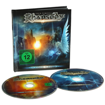 LUCA TURILLI RHAPSODY: ASCENDING TO INFINITY [LIMITED] (CD+DVD)