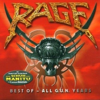 RAGE : BEST OF ALL G.U.N. YEARS (CD)