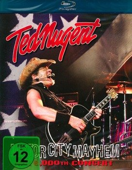 TED NUGENT: MOTOR CITY MAYHEM (BLU-RAY)