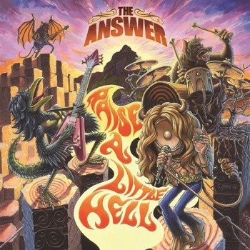 THE ANSWER: RAISE A LITTLE HELL (CD)