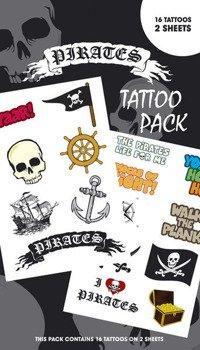 Tatuaż/Naklejka PIRATES
