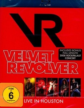 VELVET REVOLVER: LIVE IN HOUSTON (BLU-RAY)
