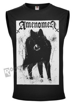 bezrękawnik AMENOMEN - SNOW WOLF (OMEN037BR BLACK)