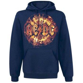 bluza AC/DC - ELECTRIC EXPLOSION LOGO, z kapturem