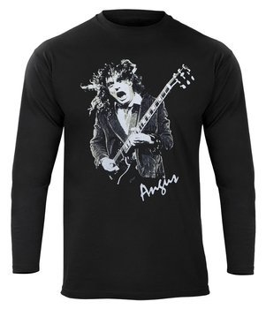 bluza AC/DC - FOR THOSE ABOUT TO ROCK czarna, z kapturem