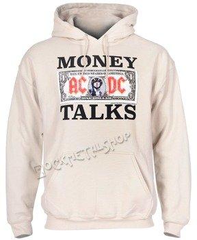 bluza AC/DC - MONEY TALKS, kangurka z kapturem
