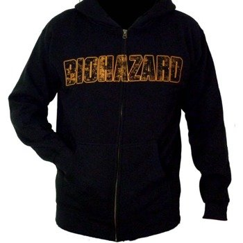 bluza BIOHAZARD - SYMBOL, rozpinana z kapturem