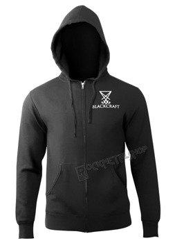 bluza BLACK CRAFT - TAROT rozpinana, z kapturem