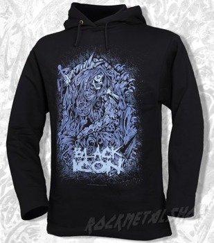 bluza BLACK ICON - FATALITY czarna z kapturem (BICON014)