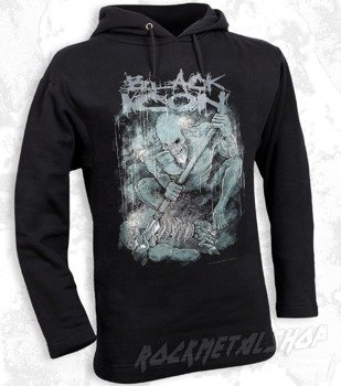 bluza BLACK ICON - FIGHT czarna z kapturem (BICON044)