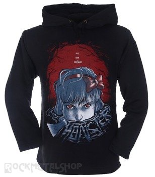 bluza BLACK ICON - MONSTER czarna z kapturem