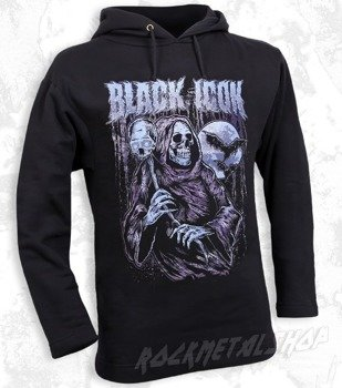 bluza BLACK ICON -  REAPER czarna z kapturem