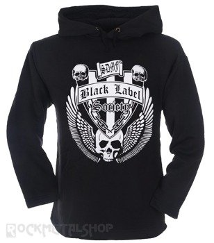bluza BLACK LABEL SOCIETY czarna, z kapturem