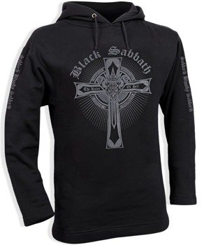 bluza BLACK SABBATH - THE RULES OF HELL czarna, z kapturem