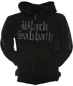 bluza BLACK SABBATH - THE RULES OF HELL rozpinana, z kapturem
