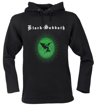 bluza BLACK SABBATH czarna, z kapturem