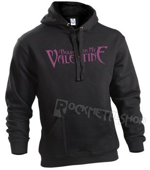 bluza BULLET FOR MY VALENTINE - LOGO, z kapturem