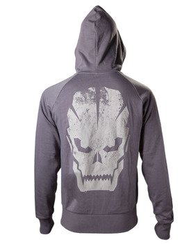 bluza CALL OF DUTY BLACK OPS III - SKULL, rozpinana z kapturem