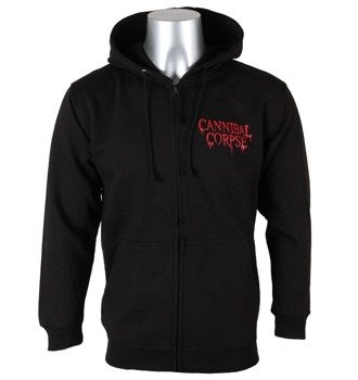 bluza CANNIBAL CORPSE - A SKELETAL DOMAIN , rozpinana z kapturem