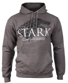 bluza GAME OF THRONES - STARK, kangurka z kapturem