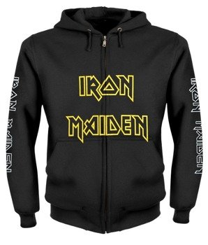 bluza IRON MAIDEN - SOMEWHERE IN TIME rozpinana, z kapturem