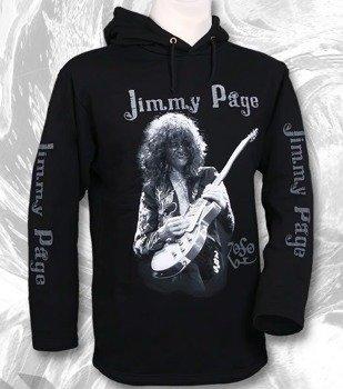 bluza JIMMY PAGE czarna, z kapturem