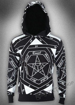 bluza KILL STAR - OCCULT, z kapturem