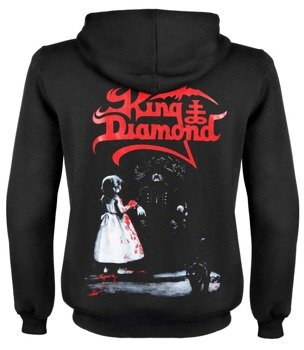 bluza KING DIAMOND rozpinana, z kapturem