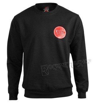 bluza KULT -PROSTO czarna, bez kaptura