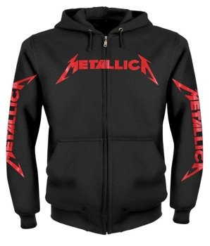 bluza METALLICA - KILL 'EM ALL czarna, rozpinana z kapturem