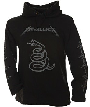bluza METALLICA - SNAKE czarna, z kapturem