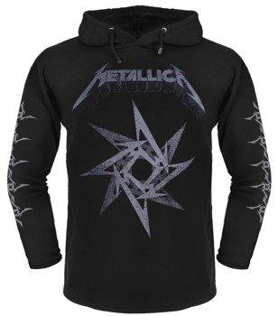 bluza METALLICA czarna, z kapturem