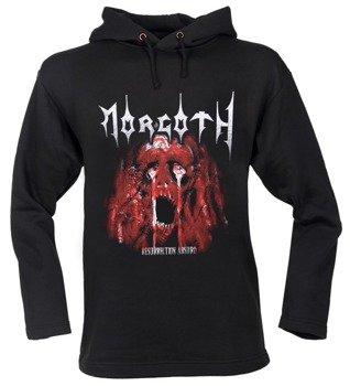 bluza MORGOTH - RESURRECTION ABSURD czarna, z kapturem