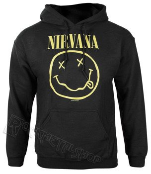 bluza NIRVANA - SMILEY z kapturem