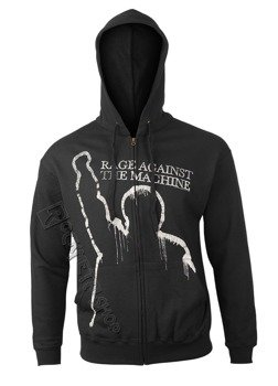 bluza RAGE AGAINST THE MACHINE - BATTLE OF LOS ANGELES rozpinana, z kapturem