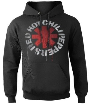 bluza RED HOT CHILI PEPPERS - STENCIL ASTERISKS, kangurka z kapturem