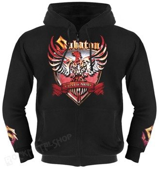 bluza SABATON - FIRST TO FIGHT rozpinana z kapturem