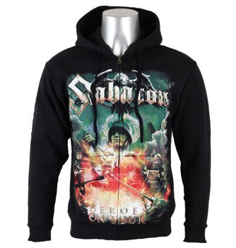 bluza SABATON - HEROES ON TOUR, rozpinana z kapturem