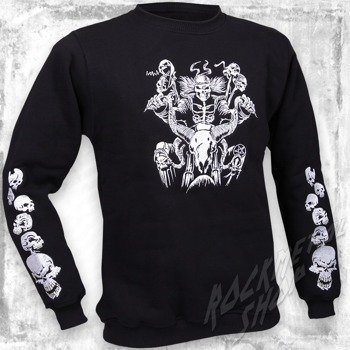 bluza SKELETON bez kaptura