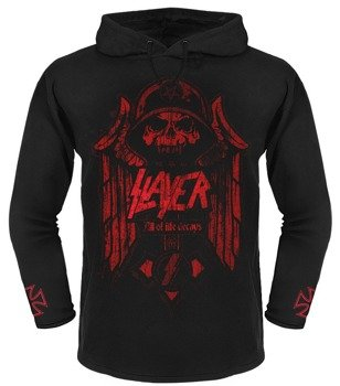 bluza SLAYER - ALL OF LIFE DECAYS czarna, z kapturem