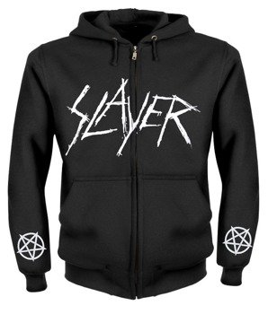 bluza SLAYER rozpinana, z kapturem