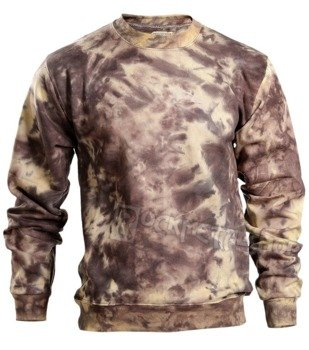 bluza barwiona RUNNING BEAR / BROWN