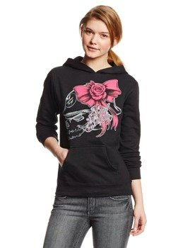 bluza damska METAL MULISHA - SO FLY PULLOVER czarna