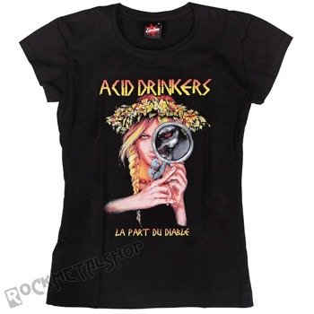 bluzka damska ACID DRINKERS - LA PART DU DIABLE black