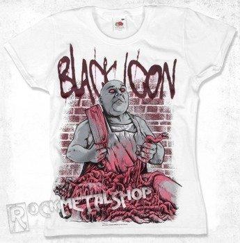 bluzka damska BLACK ICON - EXECUTION biała (DICON055 WHITE)