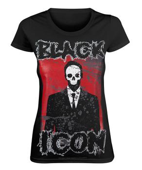 bluzka damska BLACK ICON - MAN (DICON022 BLACK)